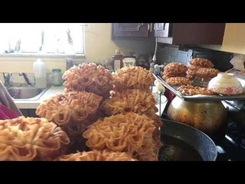 Cooking Lotus Thai flower cookies part 2