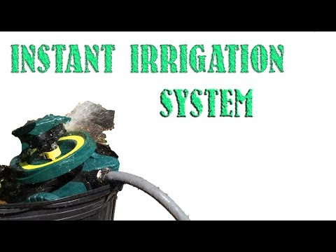 WOW instant easy garden irrigation water system