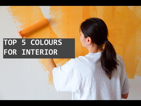 Top 5 Colour Trends for INTERIOR  2018