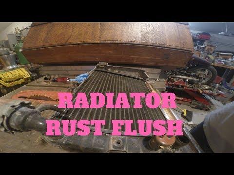 radiator corrosion and rust flush