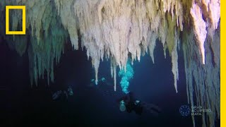 Explore the World's Largest Underwater Cave | National Geographic