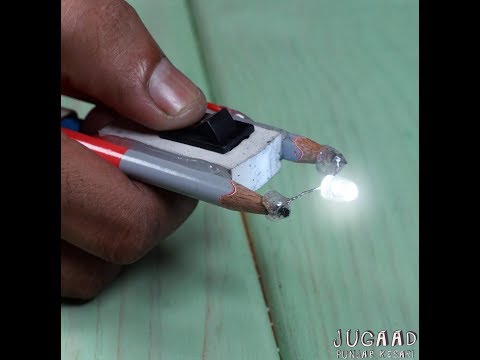 How to Make Torch Using Pencil