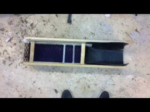 how to make your own sluice box for free