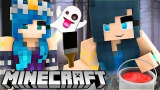 HOUSE FLIPPER IN MINECRAFT! FIXING A HAUNTED MANSION...