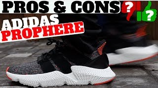 new concept d57a6 6efae PROS   CONS - ADIDAS PROPHERE (REVIEW + ON FEET)
