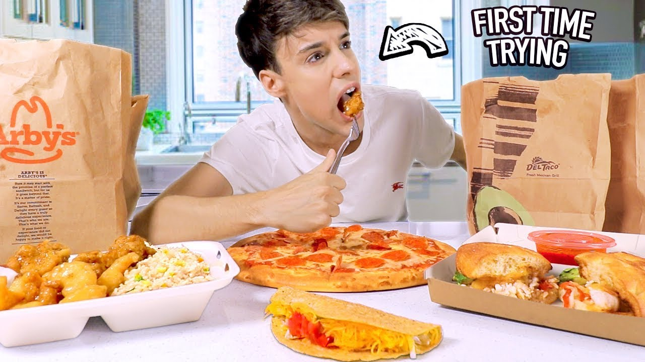 i tested american FAST FOODS i never heard of BEFORE