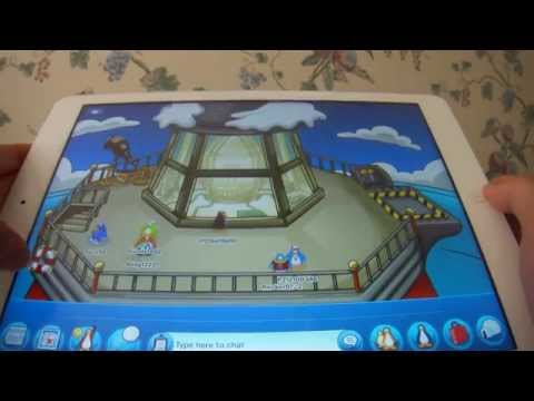 Club Penguin App: Walkthrough of Rooms (Part 1) and Chat Features