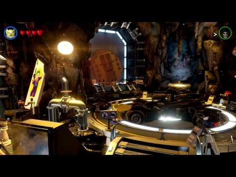 LEGO Batman 3: Beyond Gotham - A Tour of the Batcave (Featuring the Arkham Knight Batmobile!)