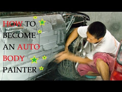 How to Become an Auto Body Painter