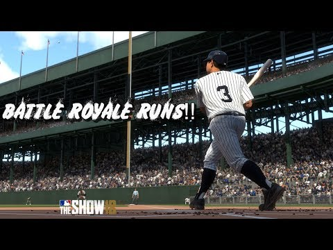 *NEW 1.10 PATCH/ROSTER UPDATE*   MLB THE SHOW 18 Diamond Dynasty 12-0 BR RUNS!!