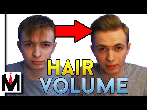 How to get MASSIVE Hair Volume and Lift | Men's Hairstyle Tutorial to Get Thicker Hair