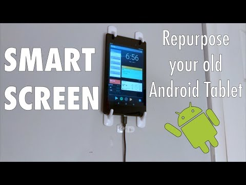 Turn your old Tablet into a Smart Screen!