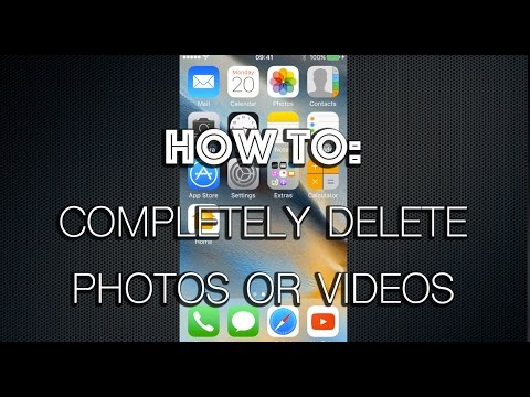 How To Permanently Delete Photos Or Videos From iPhone