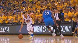 The Game That Stephen Curry Schooled Kevin Durant, Russell Westbrook and The Entire Thunder Team!