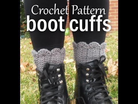 Vol 21 - Crochet Patterns - How to crochet BOOT CUFFS