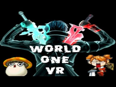 SAO x Maplestory in VR?! WorldOne VR Sneak Peek Series - User Interface!