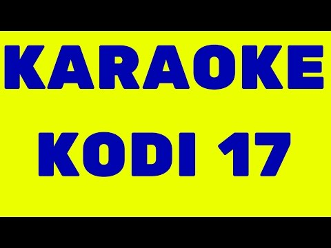 ****NO.1 Karaoke Add-on Kodi 17**** GREAT FUN