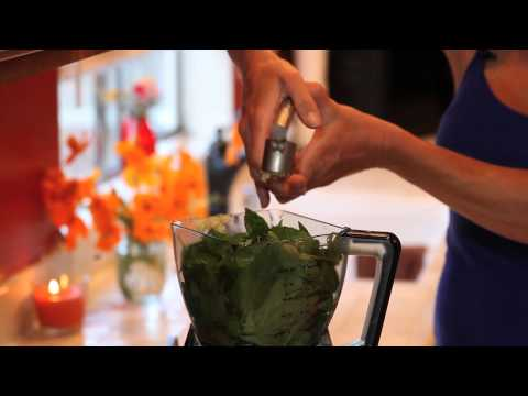 Preserving Your Harvest -  Basil Pesto & The Ice Cube Tray Trick