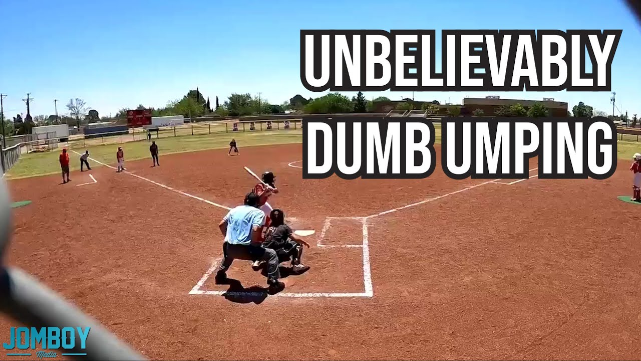 Dumbest umping you will ever see, a breakdown