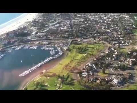 Cessna 172 Flight over Coronado Island San Diego