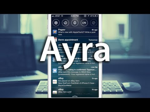 Ayra - Better Lock Screen Notifications and More!