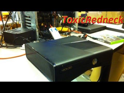 XBOX 360 Slim DVD Drive Repair (Drive Stuck on opening)