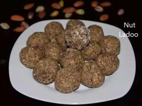 Nut Ladoo Recipe | Dry Fruit Ladoo | Navratri Ladoo | Protein Ladoo | Healthy Ladoo Recipe