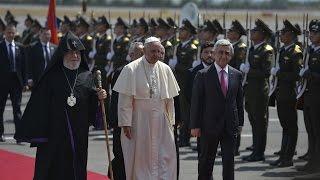 Thế Giới Nhìn Từ Vatican 23 – 29/06/2016: Cảm tình người dân Armenia dành cho Đức Thánh Cha Phanxicô