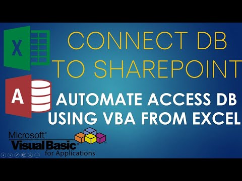 S01E09-MS Access and SharePoint VBA ADO and SQL