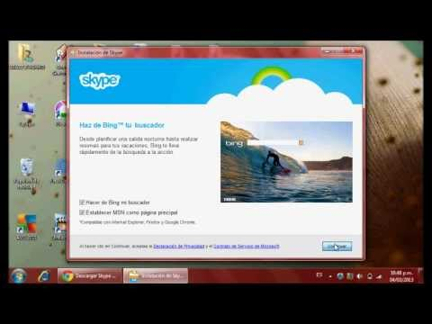How to install Skype and open account with facebook!!!