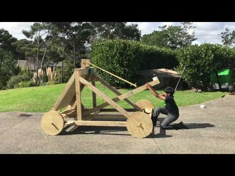 My holiday catapult project