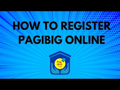 How To Register PAGIBIG Online