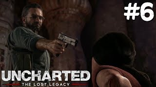 EL VIEJO ES UN NINJA? | Uncharted: The Lost Legacy #6