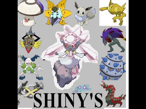 (#Diancie y shinys) mediante power saves en pokemon X By Snapdragon.