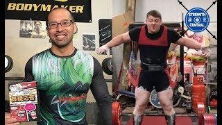 Steve Johnson (Forsaken Warrior) - 1025 kg/2259 7 lbs Total
