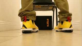 55b240fd041 Lebron 9 ON FOOT Review Videos - 9videos.tv