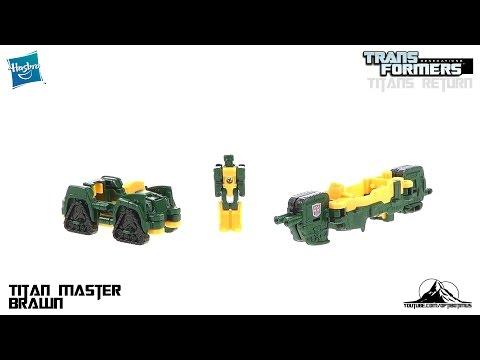 Transformers Titans Return Titan Master BRAWN Video Review