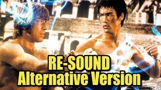 Bruce Lee Vs Chuck Norris - ( Re-sound ) Hd 1080p