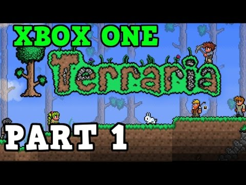 Terraria Xbox One Let's Play - Slime Heaven + Creating Our House [1]