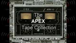 The APEX Tape Collection VST Plug-In Suite | Music Jinni