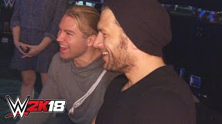 Breezango get their first look at WWE 2K18: Exclusive, Oct. 12, 2018