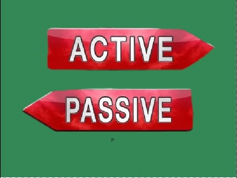 ACTIVE VOICE | PASSIVE VOICE | BASIC ENGLISH GRAMMAR  | HINDI | URDU |