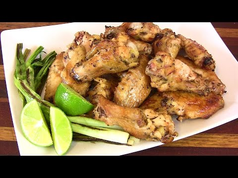 Super Bowl Recipe| Tequila Lime Wings Recipe |Cooking With Carolyn