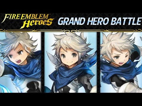 Fire Emblem Heroes - Grand Hero Battle: Kana INFERNAL+Lunatic No Skill Inheritance, F2P Units