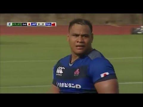 Tevita Tatafu strong performance vs Tonga A