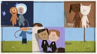 google doodle happy valentine