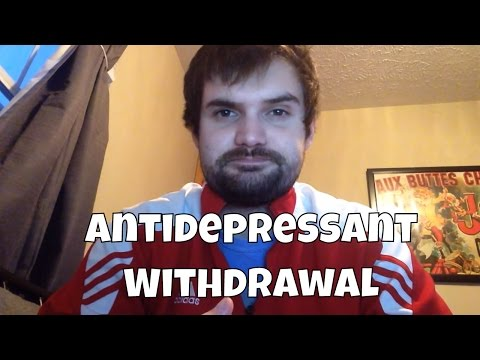 Antidepressant withdrawal symptoms (Lexapro)