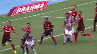 Fluminense 3x3 Flamengo (Final - Taça Guanabara) Campeonato Carioca 2017 - Melhores Momentos
