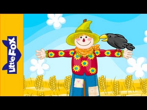 Scarecrow, Scarecrow | Nursery Rhymes | By Little Fox