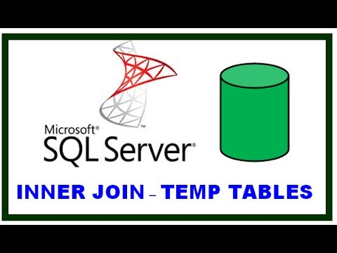 SQL SERVER - QUERIES - FROM CLAUSE - INNER JOIN and TEMP TABLES